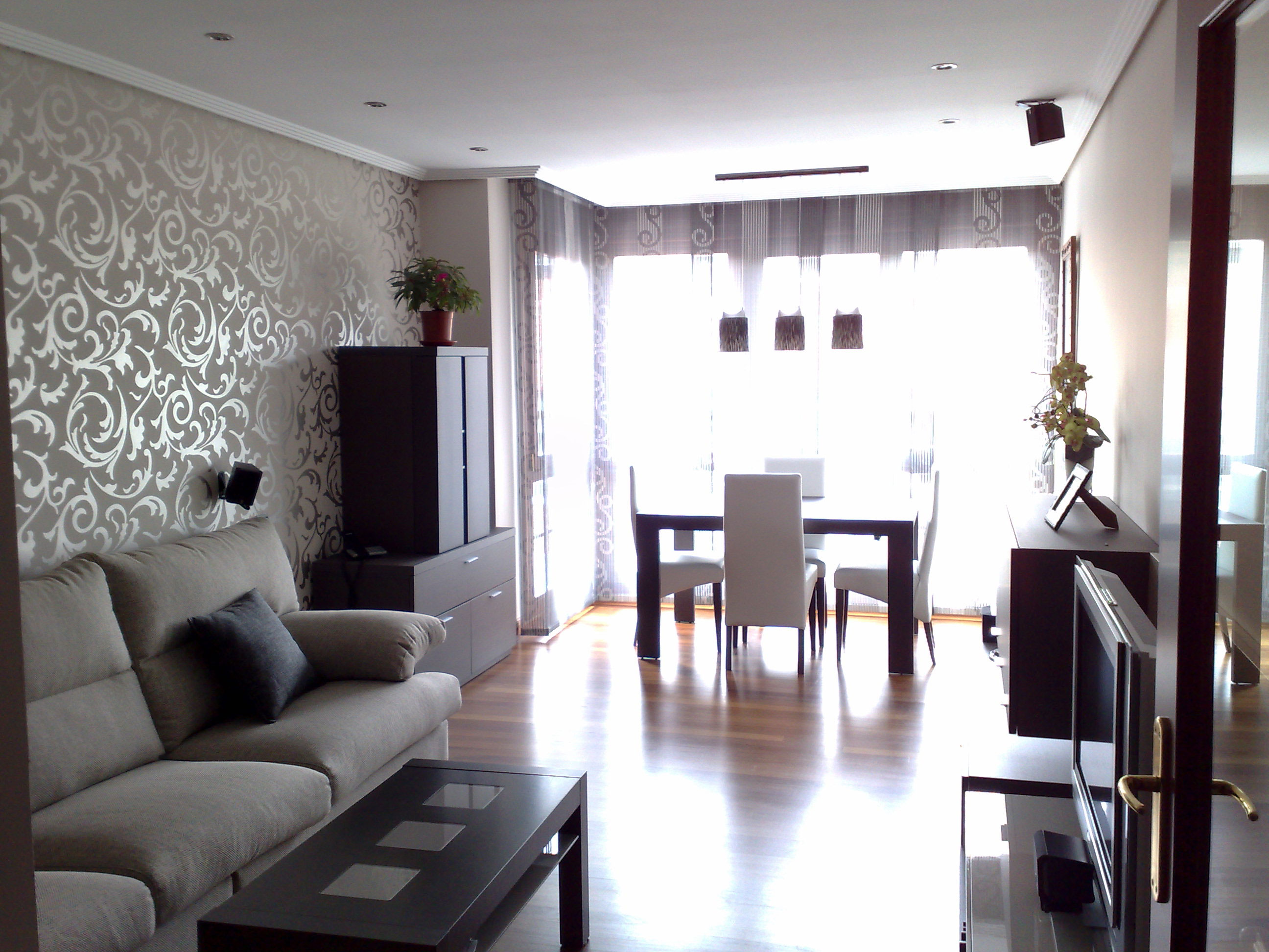 Decoracion sala comedor moderno - Adornos para casas ...